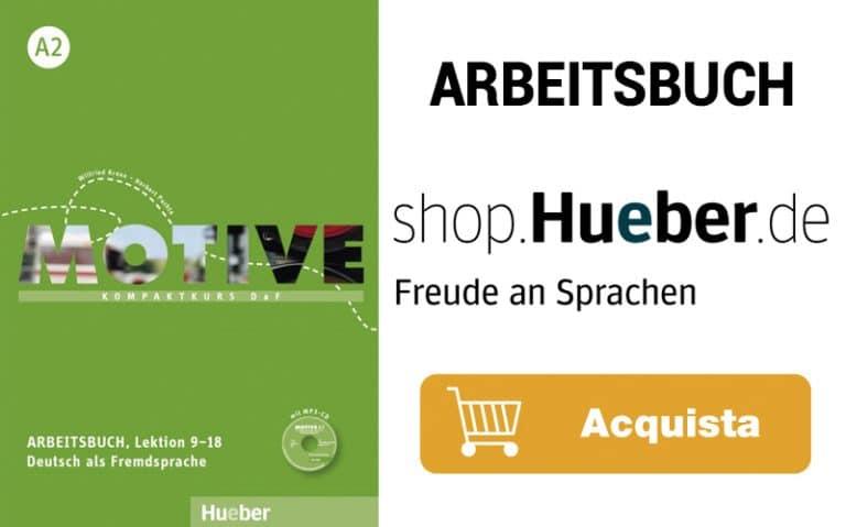 Libro per il corso di tedesco online livello A2