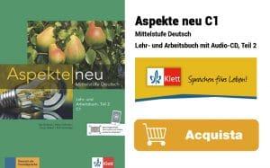 Libro di testo per il corso online di tedesco C1.2